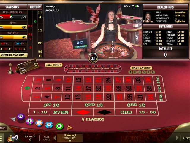 Live Dealer Roulette Online Table Games for Real Money